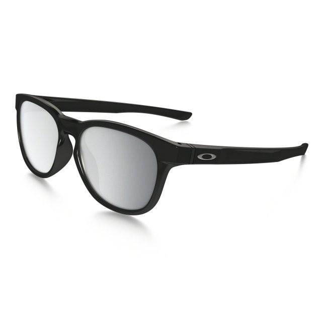 Ochelari de soare OAKLEY Stringer Polished Black w/ Chrome Iridium (OAK-OO9315-08) foto mare
