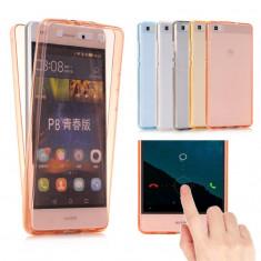Husa Ascend P9 Lite 2017 TPU 360 Fata Spate Transparenta - Husa Telefon Huawei, Gel TPU, Fara snur, Carcasa