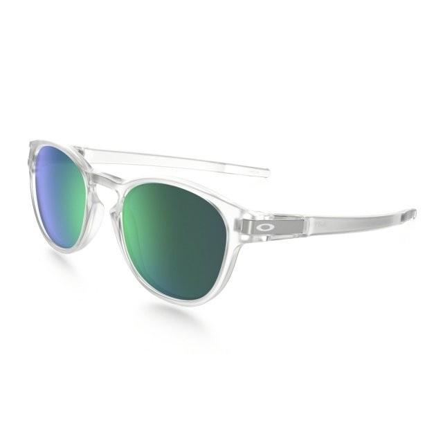 Ochelari de soare OAKLEY Latch Clear w/ Jade Iridium (OAK-OO9265-13) foto mare