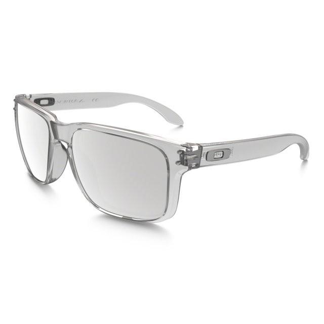 Ochelari de soare OAKLEY Holbrook Polished Clear/Chrome Iridium (OAK-OO9102-06) foto mare