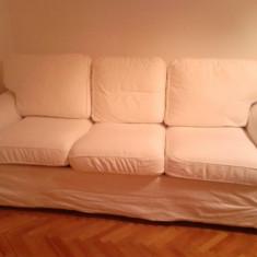Canapea extensibila 3 locuri +spatiu depozitare IKEA