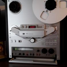 Magnetofon AKAI GX-747 LED SILVER