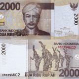 INDONEZIA 2.000 rupiah 2013 UNC!!! - bancnota asia