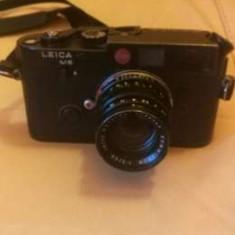 Leica M6 cu obiectiv - Aparat Foto cu Film Leica