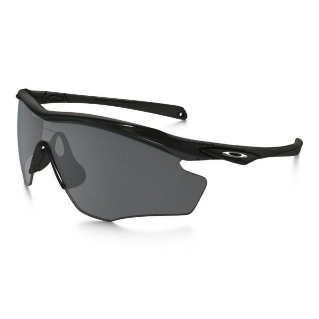 Ochelari de soare OAKLEY M2 Frame XL XL Polished Black Black Iridium (OAK-OO9343-04) foto mare