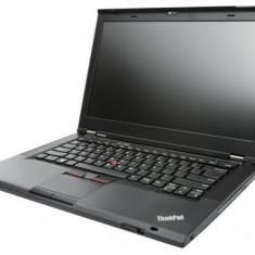 Laptop Lenovo ThinkPad T430, Intel Core i5 Gen 3 3320M 2.6 GHz, 4 GB DDR3, 250 GB HDD SATA, DVDRW, Wi-Fi, Bluetooth, Webcam, Card Reader Display