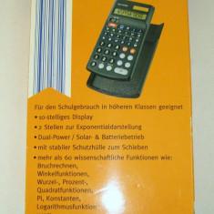 Calculator de buzunar stiintific Rex cu baterii si solar(1177)
