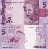 BRAZILIA 5 reais 2010 UNC!!!