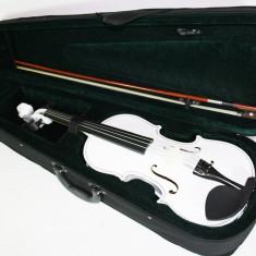 Set vioara clasica ALBA marime 4/4 Noua arcus+husa+barbie+sacaz