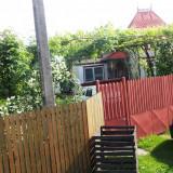 Vand sau schimb cu apartament/garsoniera, casa in sat Serbanesti, com.Rociu AG. - Casa de vanzare, 100 mp, Numar camere: 4, Suprafata teren: 2000
