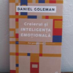 Creierul si inteligenta emotionala- Daniel Goleman - Carte dezvoltare personala