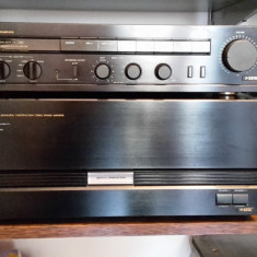 Onkyo M-5550 & P-3370, Set preamplificator si final - Amplificator audio