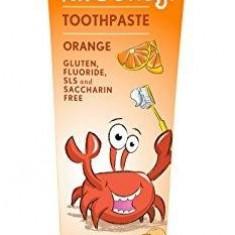 Pasta naturala de dinti cu portocale pentru copii Jason, 119g - Cosmetice copii