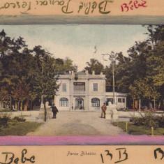 CRAIOVA PARCUL BIBESCU CIRCULATA 1912 - Carte Postala Oltenia 1904-1918, Printata