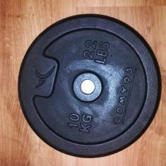 Disc haltera din fonta 10 kg, marca Domyos