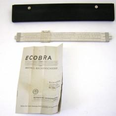 Rigla calcul aluminiu marca Ecobra(1246)