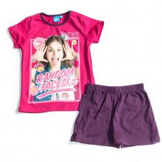 Pijama de vara Disney Soy Luna roz fuchsia
