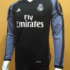 Tricou fotbal REAL MADRID model 2016-2017 Nr 7 RONALDO away - Tricou echipa fotbal, Marime: XL, Culoare: Din imagine, De club, Maneca lunga