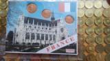 Miniset euro Franta 1,2 ,5 eurocenti noi 1999, Europa