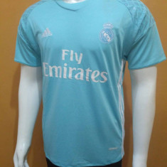 Tricou portar fotbal REAL MADRID, model 2016-2017, nr 1 NAVAS - Tricou echipa fotbal, Marime: S, XS, Culoare: Din imagine, De club, Maneca scurta