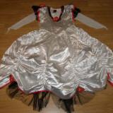Costum carnaval serbare printesa floare pentru copii de 5-6 ani - Costum Halloween, Marime: Masura unica, Culoare: Din imagine