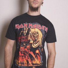 IRON MAIDEN The Number Of The Beast Graphic, tricou, S, negru - Tricou barbati, Marime: S, Maneca scurta