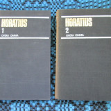 HORATIUS - OPERA OMNIA (VOL. 1 si 2 - 1980 - CA NOI!!!) - Carte poezie