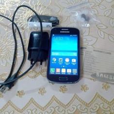 Vand Samsung Galaxy Trend Plus cu android, wi-fi, gps..etc - Telefon mobil Samsung Galaxy Trend Plus, Negru, Neblocat