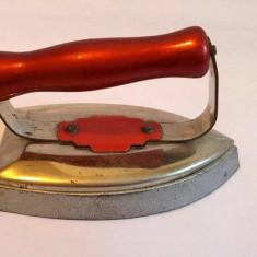 Jucarie veche fier de calcat / calcator vintage German RAUCO,