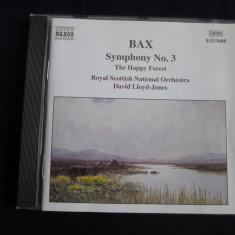 Arnold Bax.David Lloyd-Jones - Symphony no.3.The Happy Forest _cd_Naxos - Muzica Clasica Altele