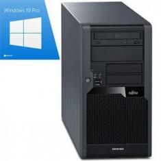 Calculator Refurbished Fujitsu ESPRIMO P5731, E7500, Win 10 Pro - Sisteme desktop fara monitor Siemens