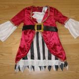 Costum carnaval serbare pirata pentru copii de 12-18 luni 1-2 ani - Costum Halloween, Marime: Masura unica, Culoare: Din imagine