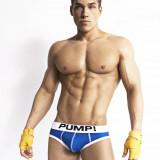 Lenjerie masculină / Men Underwear / brief PUMP! - Chiloti barbati, Marime: L, XL, Culoare: Albastru, Rosu