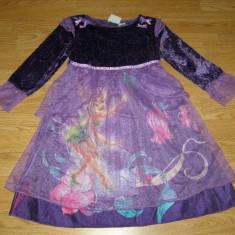 Costum carnaval serbare tinkerbell pentru copii de 4-5 ani, Marime: Masura unica, Culoare: Din imagine