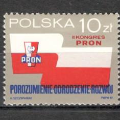 Polonia.1987 Congresul Asociatiilor Patriotice SP.373 - Timbre straine, Nestampilat