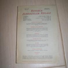 REVISTA FUNDATIILOR REGALE ANUL XIII NR.11 NOEMVRIE 1946 - Carte de aventura