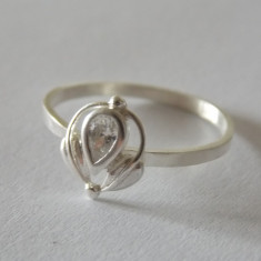 Inel argint cu zirconiu -2195