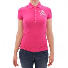 Tricou Polo by Ralph Lauren dama - Tricou dama, Marime: S, M, Culoare: Roz, Maneca scurta, Casual, Bumbac