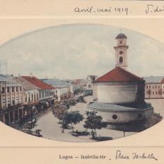 LUGOJ, PIATA ISABELLA - Carte Postala Banat 1904-1918, Necirculata, Printata