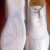 Adidas Puma Eskiva 40.5, 41EU -piele naturala -produs original- IN STOC - Adidasi dama Puma, Culoare: Alb, Piele intoarsa