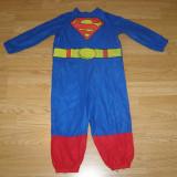 Costum carnaval serbare superman pentru copii de 2-3 ani - Costum Halloween, Marime: Masura unica, Culoare: Din imagine
