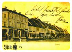 Carte postala CP BN016 Bistrita la 1904 foto