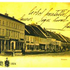 Carte postala CP BN016 Bistrita la 1904, Necirculata, Printata