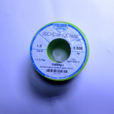 500g cositor pur 99% fara plumb calitate maxima german original fludor 0, 5kg