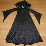 Costum carnaval serbare vampirita vrajitoare pentru copii de 7-8 ani - Costum Halloween, Marime: Masura unica, Culoare: Din imagine