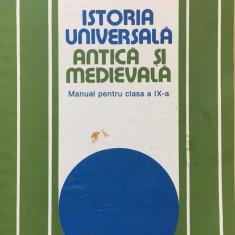 ISTORIA UNIVERSALA ANTICA SI MEDIEVALA MANUAL PENTRU CLASA A IX-A - S. Pascu - Manual scolar, Clasa 9, Istorie