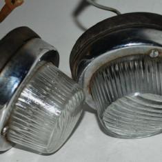 Pereche lampi semnalizare ELBA, automobil de epoca, Moskvich, DACIA 1100