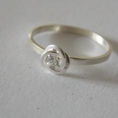 Inel argint cu zirconiu -2162