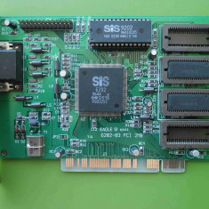 Placa Video Eagle SiS6202 PCI - Placa video PC