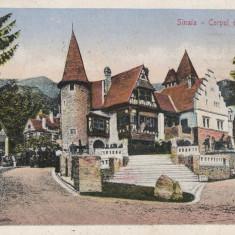 SINAIA CORPUL DE GARDA CIRCULATA 1922 - Carte Postala Muntenia 1904-1918, Printata